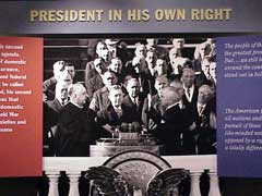 Truman sworn in for second term