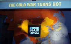 Display of The Cold War Turns Hot
