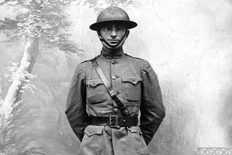 Harry S. Truman wearing a World War I uniform